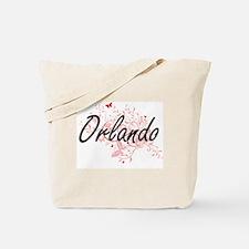 Orlando Florida City Artistic design with Tote Bag