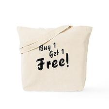 Twins B1G1 Free Funny Tote Bag