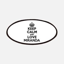 Keep Calm and Love MIRANDA Patch