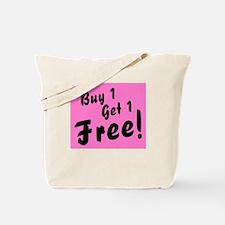 Twins Pink B1G1 Free Funny Tote Bag