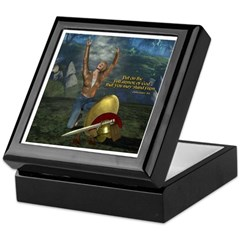 Soldier of the Lord (Woman) Keepsake Box