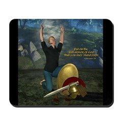 Soldier of the Lord (Man) Mousepad
