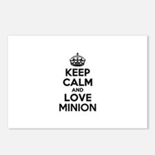 Keep Calm and Love MINION Postcards (Package of 8)