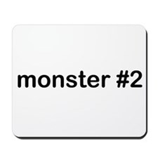 monster #2 Mousepad