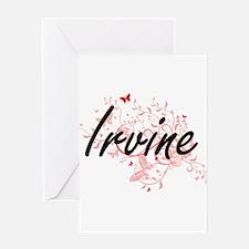Irvine California City Artistic des Greeting Cards