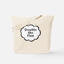 Double Fun Twins Tote Bag