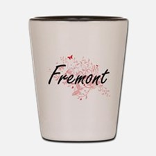 Fremont California City Artistic design Shot Glass