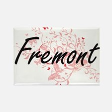 Fremont California City Artistic design wi Magnets