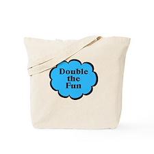 Double Fun B Twins Tote Bag