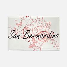 San Bernardino California City Artistic de Magnets
