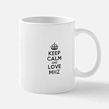 Keep Calm and Love MHZ Mugs