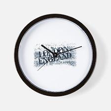 Ink effect Wall Clock