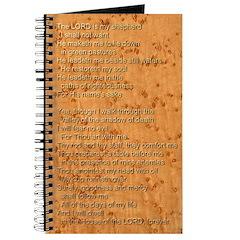 Psalm 23 - Birdseye Journal