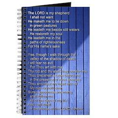 Psalm 23 - Blue Journal