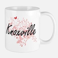 Knoxville Tennessee City Artistic design with Mugs
