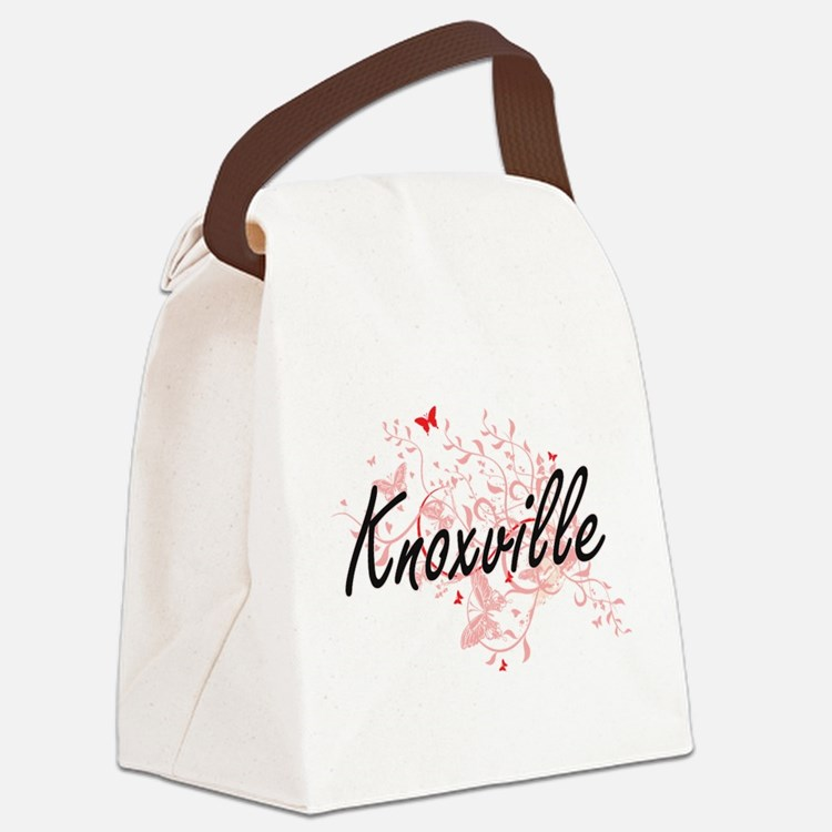 Knoxville Tennessee City Artistic Canvas Lunch Bag