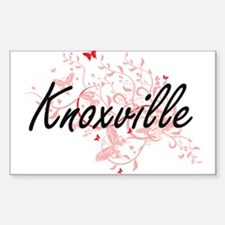 Knoxville Tennessee City Artistic design w Decal