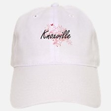 Knoxville Tennessee City Artistic design with Baseball Baseball Cap
