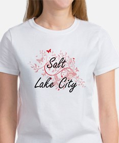 Salt Lake City Utah City Artistic design w T-Shirt