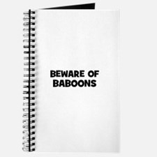 beware of baboons Journal