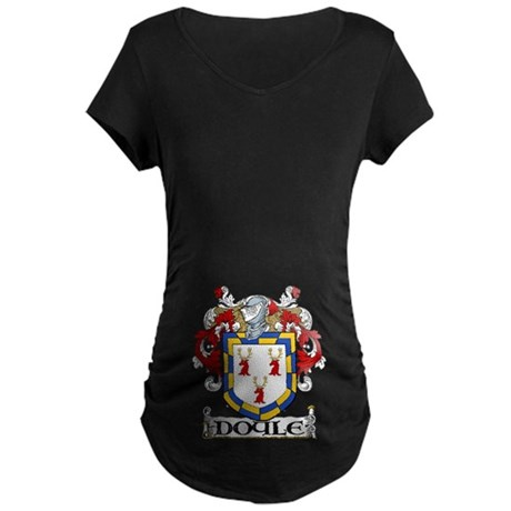 Doyle Coat of Arms Maternity Dark T-Shirt