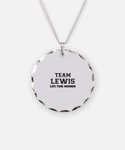 Team LEWIS, life time member Necklace