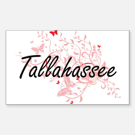 Tallahassee Florida City Artistic design w Decal