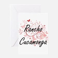Rancho Cucamonga California City Ar Greeting Cards