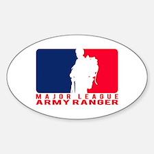 Major League Army Ranger Oval Decal