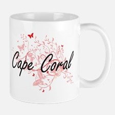 Cape Coral Florida City Artistic design with Mugs