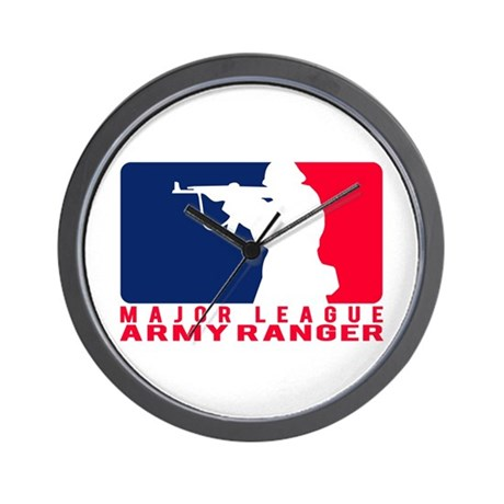 Major League Army Ranger 2 Wall Clock