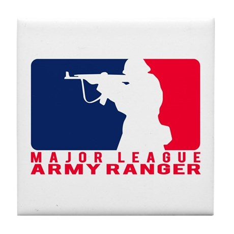 Major League Army Ranger 2 Tile Coaster