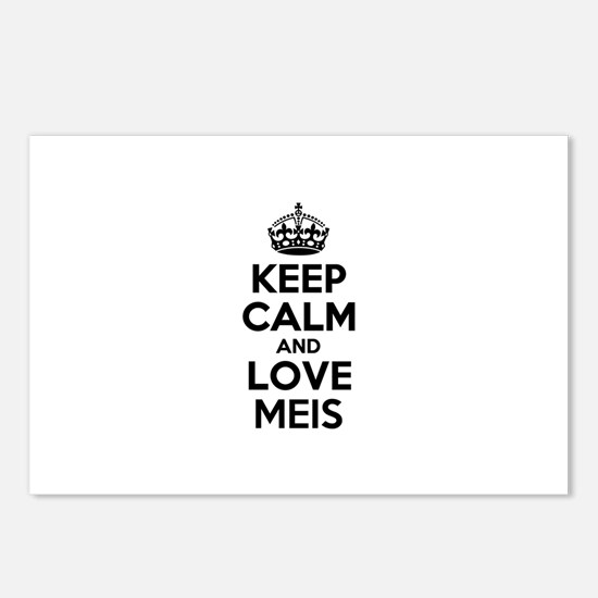 Keep Calm and Love MEIS Postcards (Package of 8)