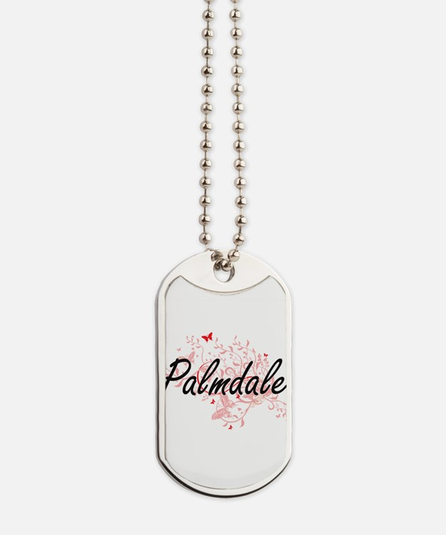 Palmdale California City Artistic design Dog Tags