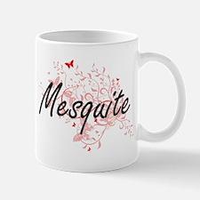 Mesquite Texas City Artistic design with butt Mugs