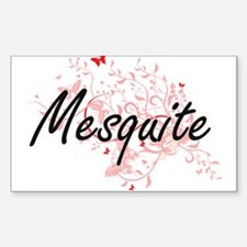 Mesquite Texas City Artistic design with b Decal