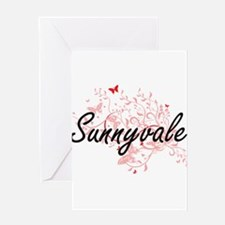 Sunnyvale California City Artistic Greeting Cards