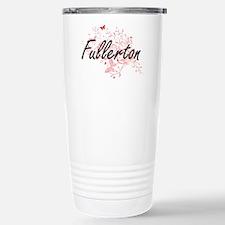 Fullerton California Ci Travel Mug