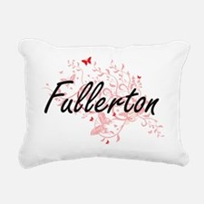 Fullerton California Cit Rectangular Canvas Pillow