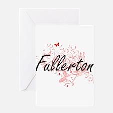 Fullerton California City Artistic Greeting Cards