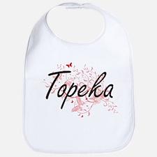 Topeka Kansas City Artistic design with butter Bib