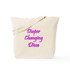 Diaper Diva Tote Bag