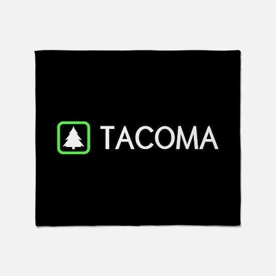Tacoma, Washington Throw Blanket