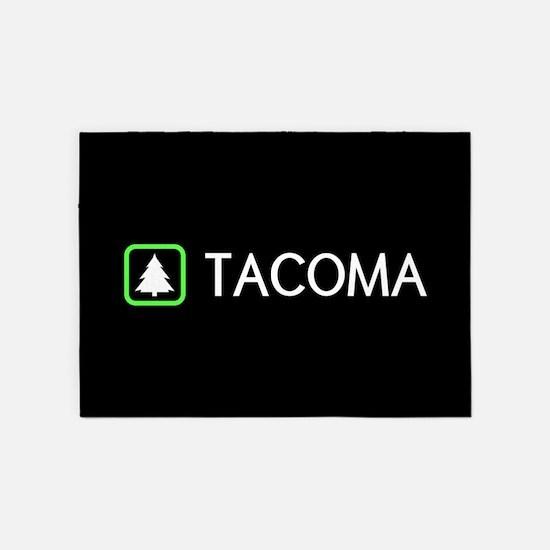 Tacoma, Washington 5'x7'Area Rug
