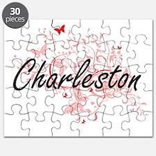 Charleston South Carolina City Artistic des Puzzle