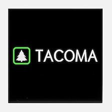 Tacoma, Washington Tile Coaster