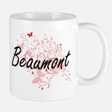 Beaumont Texas City Artistic design with butt Mugs
