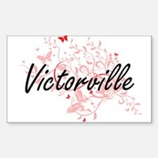 Victorville California City Artistic desig Decal