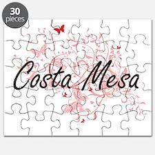 Costa Mesa California City Artistic design Puzzle