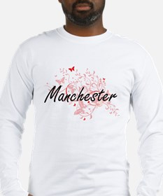 Manchester New Hampshire City Long Sleeve T-Shirt